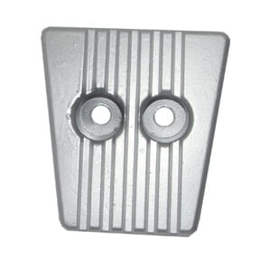 PLATE FOR VOLVO SX19 N Zinc