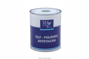 Farba antyporostowa Self-polishing antifuling 0,75l czarna Sea Line